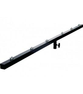 T-Balk 1,5m 35mm Staal zes bevestigingen JB Systems TB-66