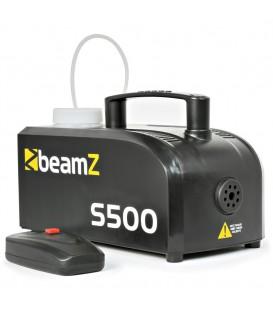 Rookmachine 500W Kunsstof + rookvloeistof + Afstb. beamZ S500P
