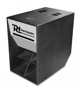 "PD Scoop Subwoofer 18"" 1000W Power Dynamics"