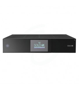 VU+ Solo 4K - PVR ready Linux ontvanger UHD 2160p + 2X S2 Tuner