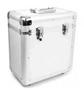 "RC80 12"" Vinyl Record Case Silver Power Dynamics"