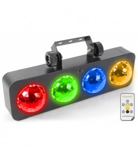 DJ Bank BX 4x 3W RGBA LED's IR beamZ