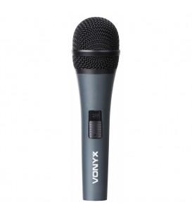 Dynamische Microfoon inclusief XLR kabel Vonyx DM825