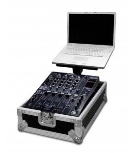 "DJ Mixer Flightcase 12"" met Laptop stand Road Ready RR12MIXL"