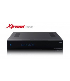 XTREND ET-7500 FULL HD RECIEVER + 2 X S2 Tuner + HDD 500GB
