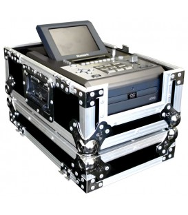 CD Single PLayer Flightcase met Ventilator Road Ready RRCCDP