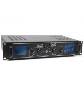 Versterker met equalizer 2000watt Skytec SPL 2000EQ