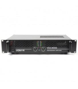 PA versterker 2x1500watt Skytec SKY-3000 II