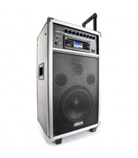 """Mobiele geluidsinstallatie 8"""" BT/CD/MP3/UHF Vonyx ST100 MK2"""