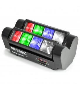 Double Helix 8x 3W RGBW LED's DMX beamZ MHL820