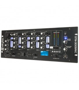 4-Kanaals Mixer EQ USB/MP3/Record Skytec STM-3005REC