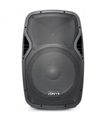 "Mobiele Geluidsinstallatie 15"" 2VHF MP3 BT Vexus AP1500PA"