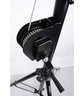 IBIZA SL010W Light Stand With Winch 2,7m, T-Bar 1,2m, max 70kg