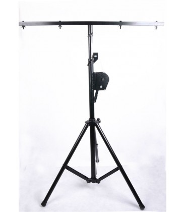 IBIZA SL010W Light Stand With Winch 2,7m, T-Bar 1,2m, max 70kg