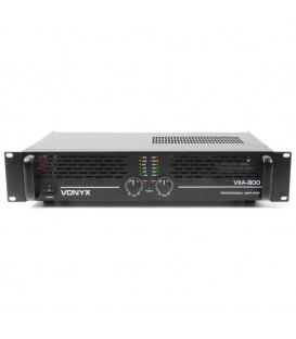 PA Versterker 2x400W Vonyx VXA-800 II