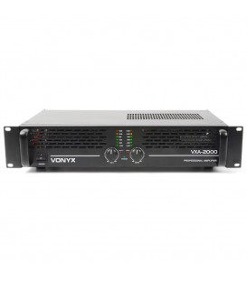 PA Versterker 2x1000W Vonyx VXA-2000 II