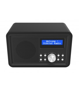 Denver DAB-35 DAB+ en FM Digitale Radio Zwart
