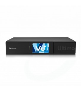 VU+ ULTIMO 4K TWIN TUNER DVB-S2 FBC + HDD 500GB
