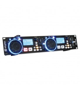 Dubbele MP3-USB-SD-speler Skytec STC-50