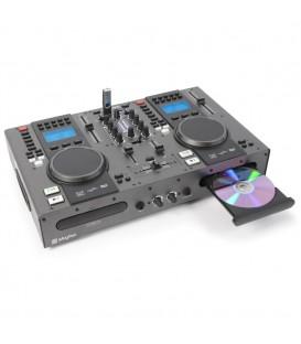 Twin Top CD-/USB/MP3-speler/mixer Skytec  STX-95