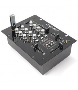2-Kanaals Mixer USB/MP3 Skytec STM-2300