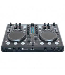 DJ MIDI Controller PDC-07 met geluidskaart + Vir DJ Soft
