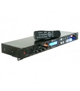 USB-/SD-/MP3-speler 1HE Power Dynamics PDC-70