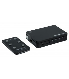 Hoge kwaliteit 4-poorts HDMI Switch met 3D ondersteuning