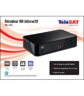 TELESAT HD Decoder M7 MZ-101