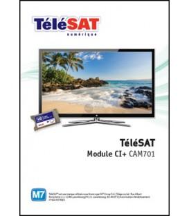 TELESAT CI+ Module met Smartkaart CAM701