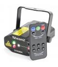 Titania Double Laser 200mW RG Gobo IRC beamZ