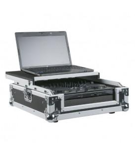 DJ Midi Controller + Laptop Flightcase Zwart DCA-CON1