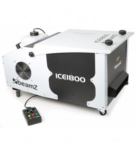 IJsgekoelde Pro. Rookmachine DMX beamZ ICE1800