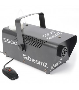 Mini Rookmachine 500W + rookvloeistof + Afstb. beamZ S500