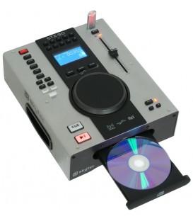 Single Top CD-/USB/MP3-speler Skytec  STX-90 Pro Metal Case