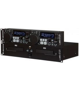 Dubbele CD/MP3/USB-Speler USB 2.2 MK2 JB SYSTEMS