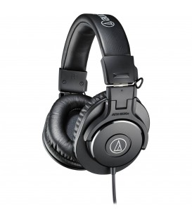 CLOSED-BLACK HEADPHONE AUDIO-TECHNICA ATH-M30x