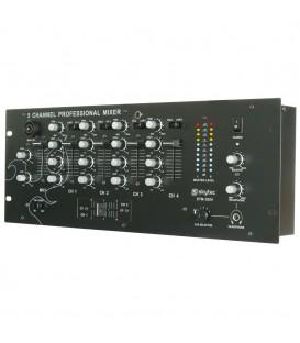 "4-Kanaals mixer + EQ  19"" 4U Skytec  STM-3004"