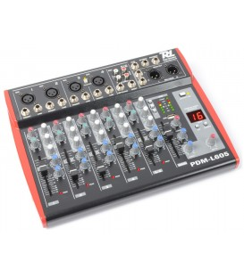 6-kanaals Stage Mixer PDM-L605 MP3 ECHO