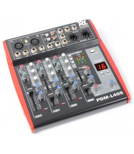 4-kanaals Stage Mixer PDM-L405 MP3 ECHO