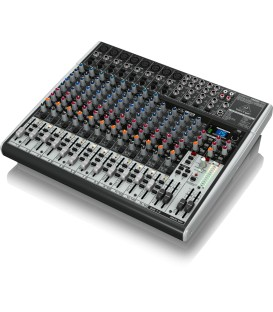22 IN 2/2 BUS USB MIXER BEHRINGER XENYX X2222USB B-STOCK