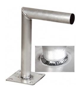 HQ L Muurbeugel 25 cm Aluminium