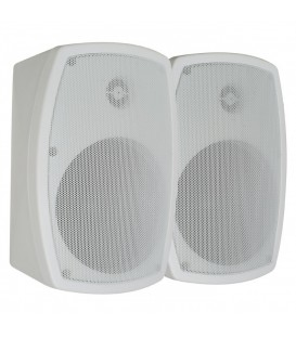 "WaterProof Speaker 5"" 120watt Wit per Set 2st PD- ISP5W"