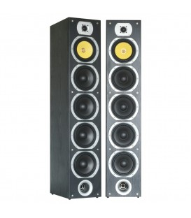 "Speaker Tower Set van 2 x 600watt 4 x 6,5""+ 2 Tweeters SHFT57B"