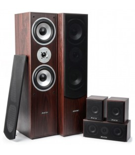 5.0 Home Theatre Systeem  Walnoot  1150watt SkyTronic