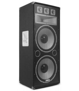 """PA Speaker 2x 15"""" 1500W Vonyx TX215"""