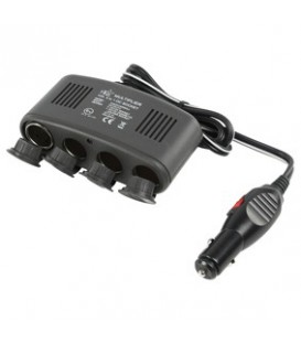 CARPLUG SPLITTER 4 X 12v 10A + USB