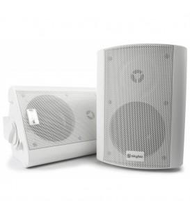 2-Weg Actieve speaker 100W  Wit per set 2 st. Skytec  170.175