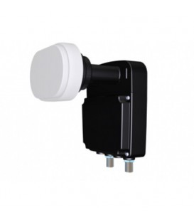 DUO LNB TWIN INVERTO BLACK PRO Astra I/III 80cm