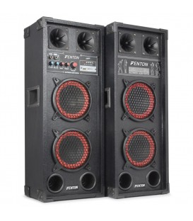 "PA Actieve Speakerset 2x 6.5"" USB SD 600watt SPB-26"